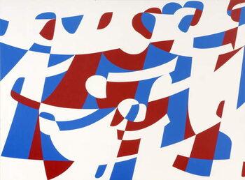 Obraz na plátně Towards unity in diversity, 1989