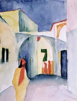 Obraz na plátně A Glance Down an Alley