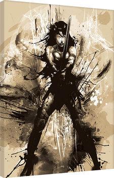 Obraz na plátně Batman V Superman - Wonder Woman Art