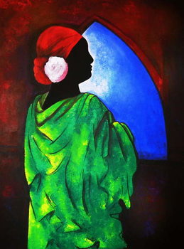 Obraz na plátně Camelia Rose, 2008
