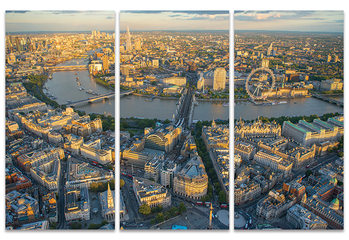 Obraz na plátně Jason Hawkes - London Evening