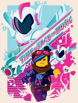 Obraz na plátně  Lego Příběh 2 - Face the Music