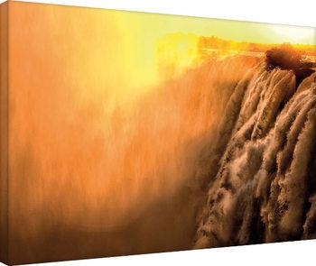 Obraz na plátně  Mario Moreno - Steamy Falls