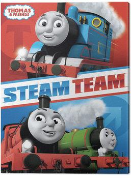 Obraz na plátně Mašinka Tomáš A Přátelé - Steam Team