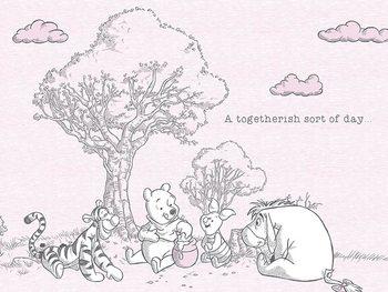 Obraz na plátně  Medvídek Pú - Togetherish