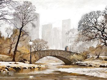 Obraz na plátně  Richard Macneil - Gapstow Bridge