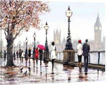 Obraz na plátně  Richard Macneil - Thames View