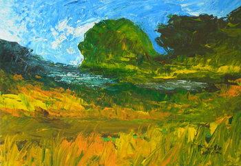 Obraz na plátně Riviere de Bainet, 2010