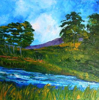 Obraz na plátně Ruisseau pres de Marmelade, 2016
