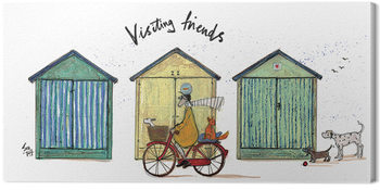 Obraz na plátně  Sam Toft - Visiting Friends