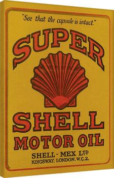 Obraz na plátně Shell - Adopt The Golden Standard, 1925