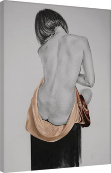 Obraz na plátně T. Good - Silk In Mocha