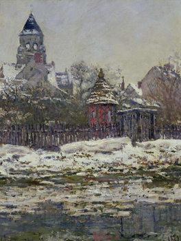 Obraz na plátně The Church at Vetheuil, 1879