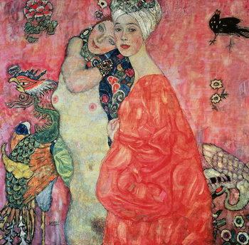 Obraz na plátně The Girlfriends, 1916-17