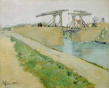Obraz na plátně The Langlois Bridge, March 1888