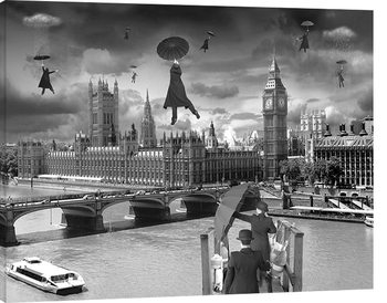 Obraz na plátně  Thomas Barbey - Blown Away