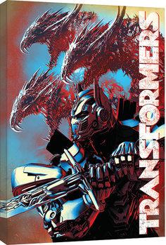 Obraz na plátně  Transformers: Poslední rytíř - Dragons