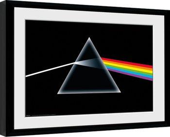Zarámovaný plagát Pink Floyd - Dark Side Of The Moon