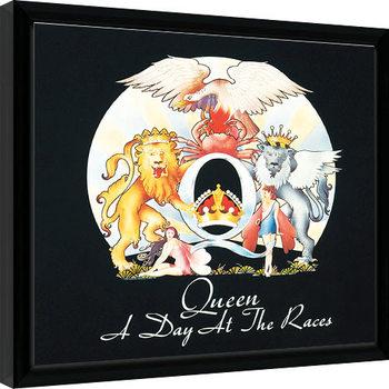 Zarámovaný plagát Queen - A Day At The Races