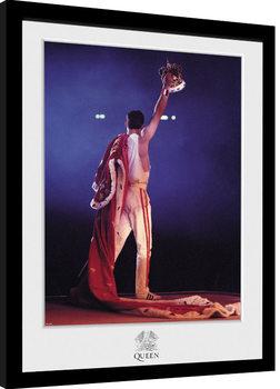 Zarámovaný plagát Queen - Crown