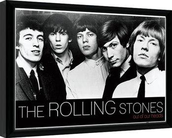 Zarámovaný plagát Rolling Stones - Out Of Our Heads