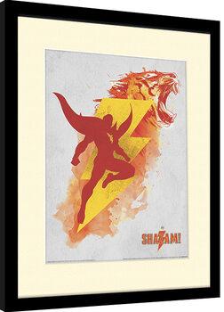 Zarámovaný plagát Shazam - Shazam's Might