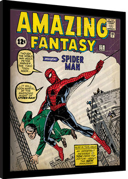 Zarámovaný plagát Spider-Man - Issue 1