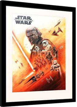 Zarámovaný plagát Star Wars: Episode IX - The Rise of Skywalker - First Order