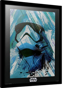 Zarámovaný plagát Star Wars: Episode IX - The Rise of Skywalker - First Order Trooper