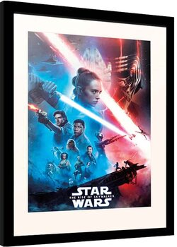 Zarámovaný plagát Star Wars: Episode IX - The Rise of Skywalker - One Sheet