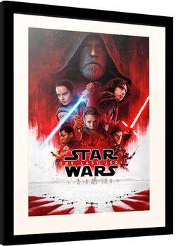 Zarámovaný plagát Star Wars: Episode VIII - The Last of the Jedi - One Sheet