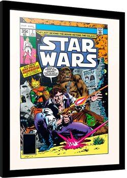 Zarámovaný plagát Star Wars - New Planets New Perils
