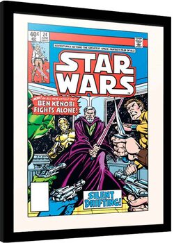 Zarámovaný plagát Star Wars - Silent Drigting