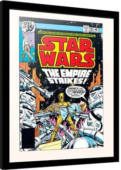 Zarámovaný plagát Star Wars - The Empire Strikes!