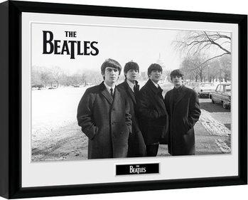 Zarámovaný plagát The Beatles - Capitol Hill