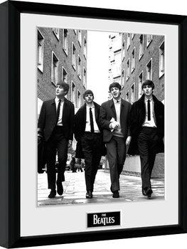 Zarámovaný plagát The Beatles - In London Portrait