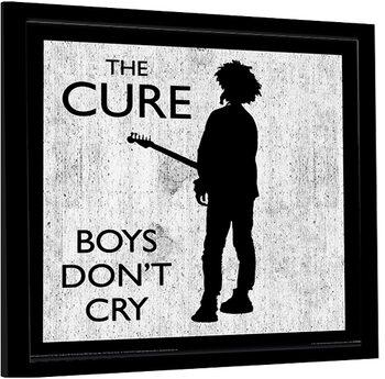 Zarámovaný plagát The Cure - Boys Don't Cry