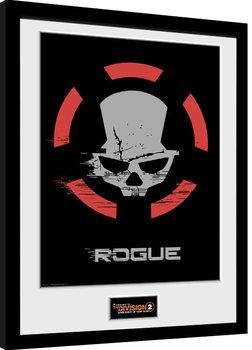 Zarámovaný plagát The Division 2 - Rogue