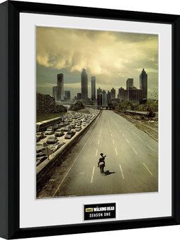 Zarámovaný plagát The Walking Dead - Season 1