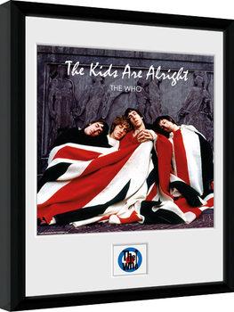 Zarámovaný plagát The Who - The Kids ae Alright