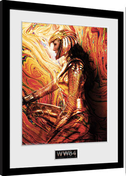 Zarámovaný plagát Wonder Woman 1984 - One Sheet