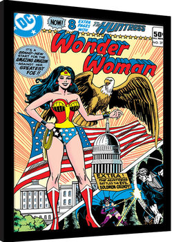 Zarámovaný plagát Wonder Woman - Eagle