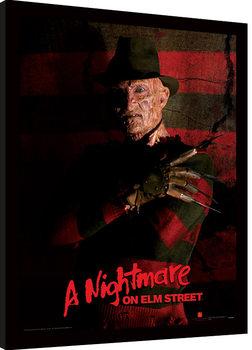 A Nightmare On Elm Street - Freddy Krueger zarámovaný plakát