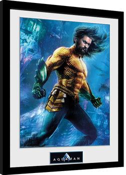 Aquaman - Arthur Curry Zarámovaný plagát