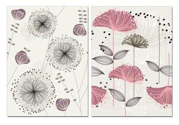 Obraz Art - Sketch of Flowers