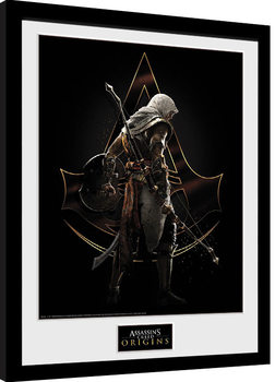 Assassins Creed: Origins - Assassin Zarámovaný plagát