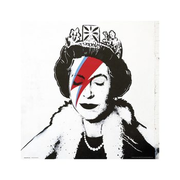 Obrazová reprodukce  Banksy - Queen Bowie