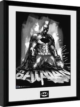 Batman Comic - Paint Zarámovaný plagát
