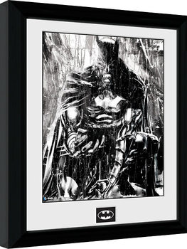 Batman Comic - Rain zarámovaný plakát