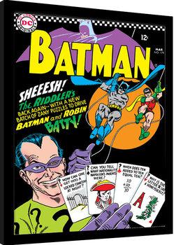 Batman - The Riddler zarámovaný plakát